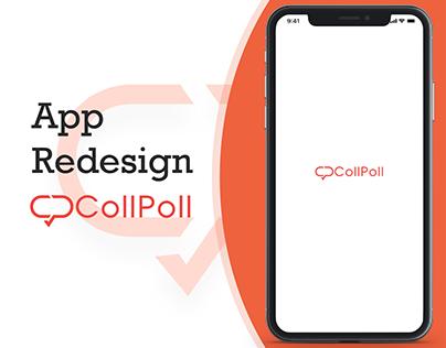 App Redesign of Collpoll