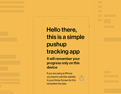 Pushu.ps – a simple workout tracker