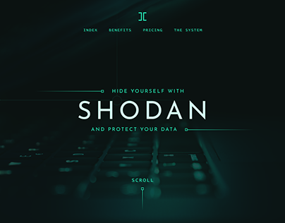 SHODAN - Digital UI (Concept)