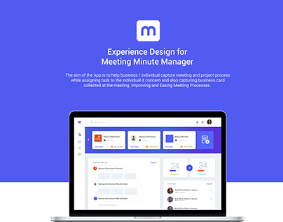UX Design for Meeting Manager App