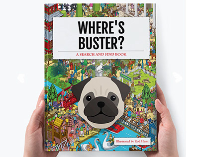 Where's Your Dog? Personalised Search & Find Book