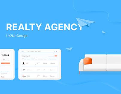 UX/UI-design of Realty Estate Agency