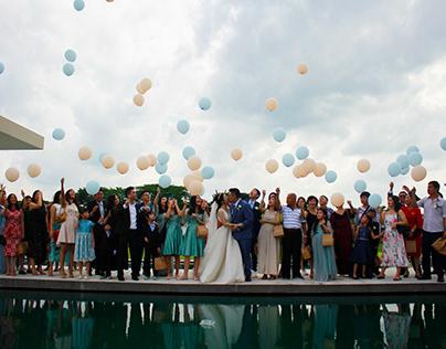 The Wedding of Daniel & Morina