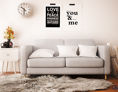The corner's sofa.