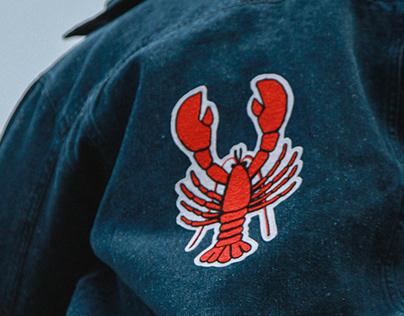 Lucia Calfapietra X Cusmoz Lobster embroidered jacket