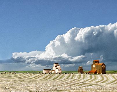 Prairie grain elevators