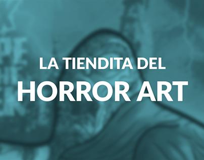 La Tiendita del Horror Art (Proyecto de Branding)