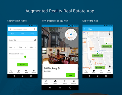 Augmented Reality Real Estate App