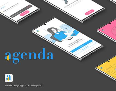 Agenda | UX / UI Design App