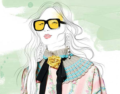Gucci illustrations
