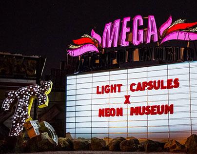 Light Capsules x Neon Museum