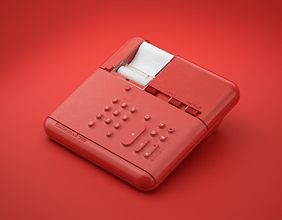 ▼▲ Once In A While Renders № 79 Olivetti Underwood 280