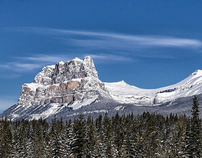 Springtime in the Canadian Rockies