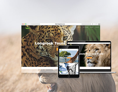 Longrock Tours and Travel Website