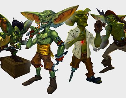Goblin Pirate Crew