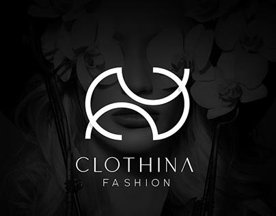 Fashion luxury brand logo - CLOTHINA Fashion