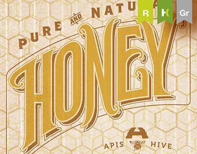 BRANDING :: Apis Hive Honey