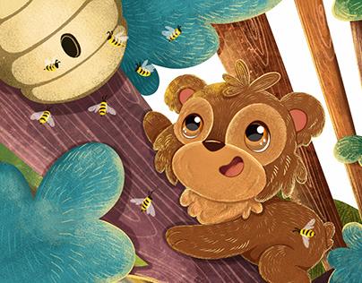 Little bear picturebook
