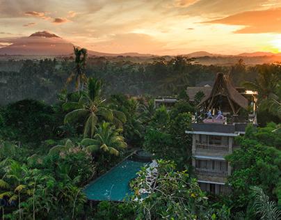 The Udaya Resort & Spa - Aerial Photography