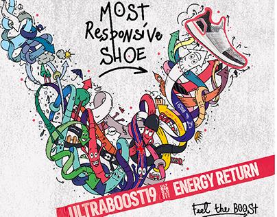"Contest Adidas Ultraboost 2019 ""London energy"""