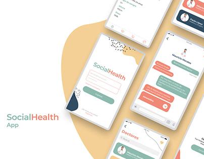 Diseño de App SocialHealth