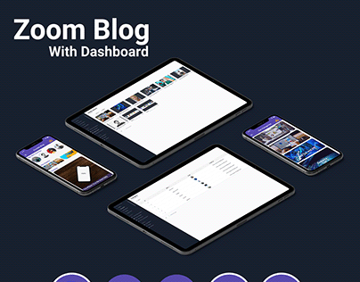 Zoom -Blog App With Dashboard - ios and android