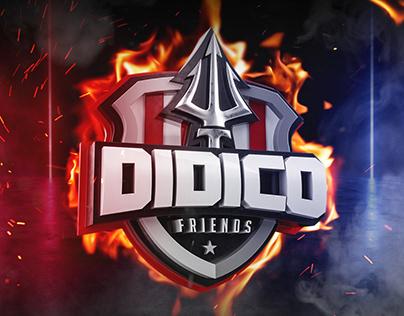 E-sports 3D Logo - Wallpaper