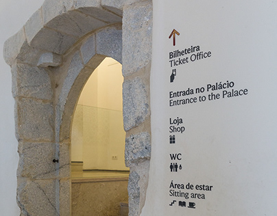 Signage system for the National Palace of Sintra