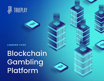 TRUEPLAY — Landing Page   Gambling   Blockchain