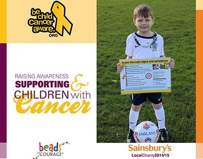 Sainsbury's Local Charity: Be Child Cancer Aware