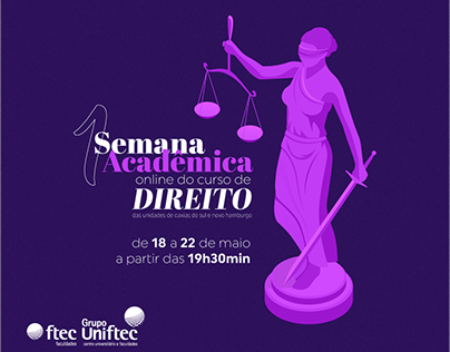 Semana Acadêmica do curso de Direito