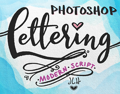 Photoshop Lettering: Modern Script (Skillshare Class)