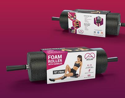 Atlas Foam Roller - Package Design