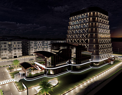 Office & Commercial Tower in New Mansoura