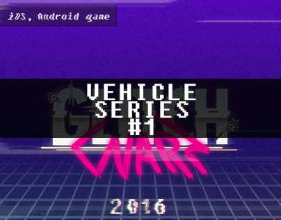 Glitch Warz Vehicle Series #1 w/ team colors