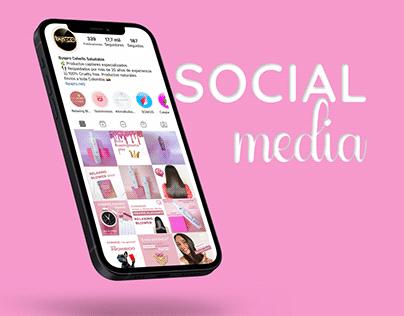Social Media - Productos de belleza