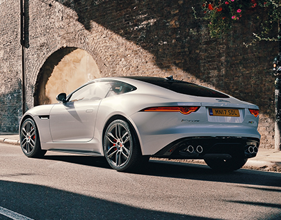 Jaguar F-Type Borough Market