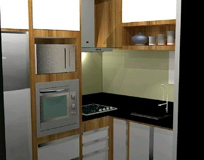 Projeto em 3d, ferramenta utilizada, SketchUp.