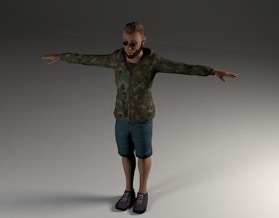 CHARACTER(3D MODEL)
