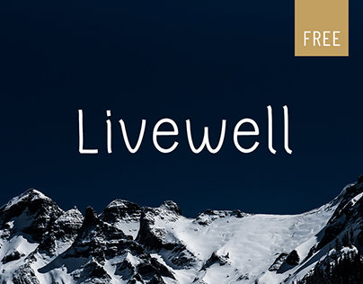 Livewell - Free Font
