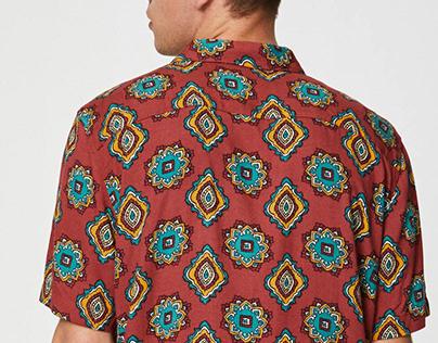 Geometric Print for Pull&Bear