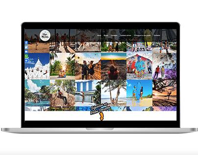 Diseño web - Blog de Viajes
