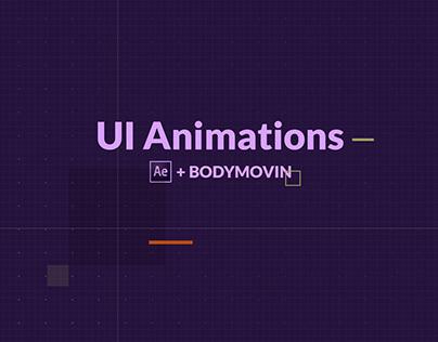 UI Animation- AE & Bodymovin