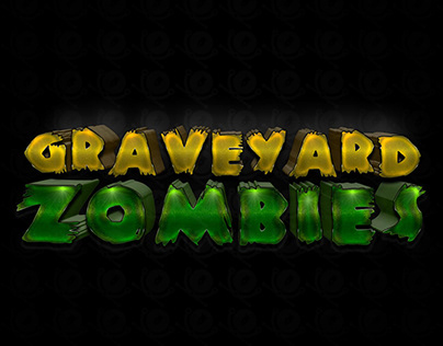 Graveyard Zombies Game Logo