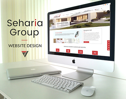 Website design for Seharia Group - Manufactory