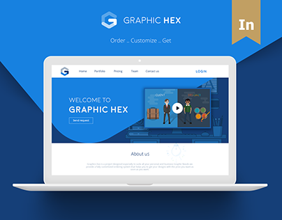 Graphic Hex - Website