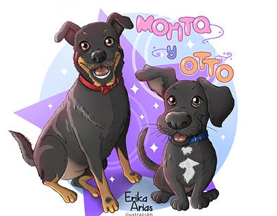 Ilustración de Mascotas