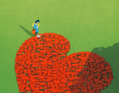Heart to Heart. (Interni Magazine)