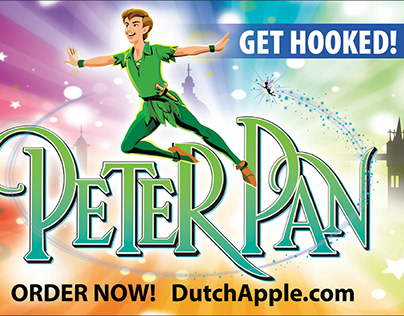 Dutch Apple Dinner Theatre: Peter Pan Billboard