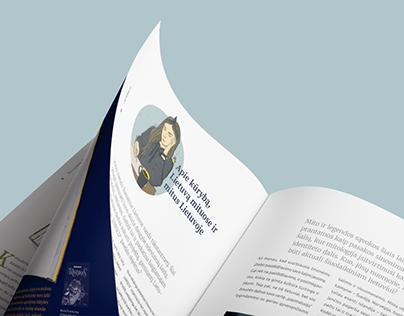 Nūnai magazine   Editorial design